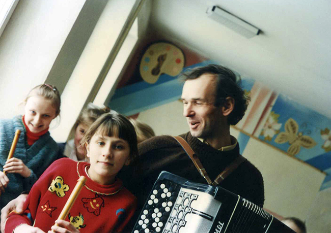 Slavic  with Students
