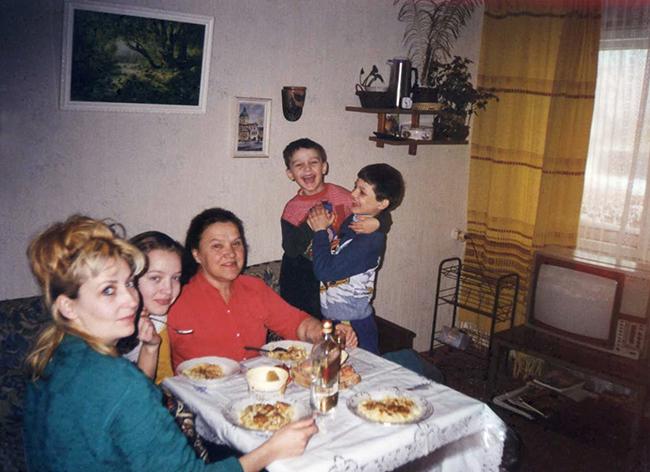 Uliana and Family