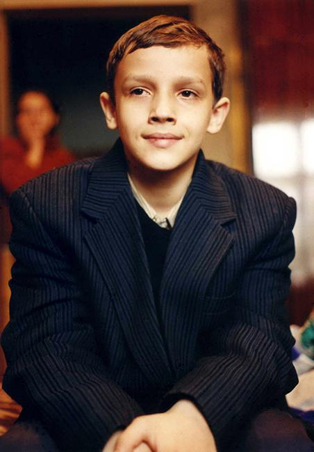 Neighbor Boy in Suit Jacket