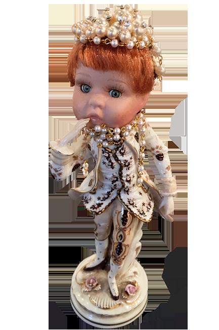 Ludwig van Doll head
